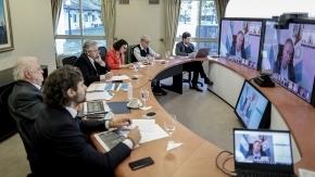 El presidente Fernández evaluará la situación sanitaria con los gobernadores esta tarde