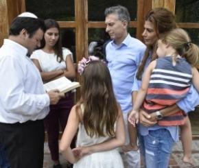 El Presidente Macri recibió esta mañana a las hijas del fiscal Alberto Nisman
