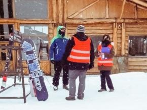 El programa de concientización y prevención CUIDARNOS TDF visitó el Cerro Castor