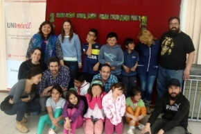 El proyecto UNImóvil de la UNTDF visito la escuela rural del Lago Escondido