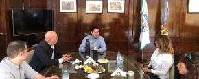 El representante oficial del Gobierno Provincial, Hugo Romero se reunió con el intendente de Malvinas Argentinas para avanzar en un trabajo conjunto en educación, salud y deportes