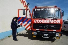 El Secretario de Seguridad visitó las instalaciones de los Bomberos Voluntarios