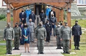 """El Superior Tribunal de Justicia participó del cambio de Jefatura de la Agrupación XIX """"Tierra del Fuego"""" de Gendarmería Nacional"""
