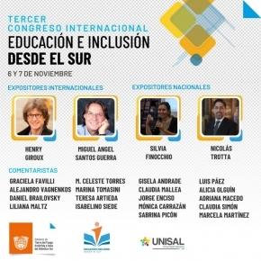 El Tercer Congreso Internacional de Educación e Inclusión desde el Sur ya supera los 6 mil inscriptos