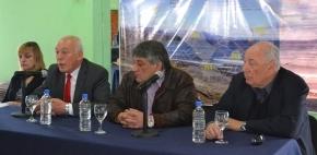 """El Vicegobernador Roberto Crocianelli encabezó la apertura de sobres para la obra """"Planta de Tratamiento y Colectoras- Tolhuin"""""""