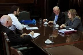 El Vicegobernador Roberto Crocianelli se reunió con funcionarios de la Secretaría de Energía de la Nación