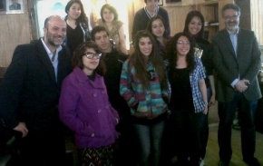 """""""Es satisfactorio ver que los jóvenes participen, se interesen y formulen proyectos"""", sostuvo Bocchicchio luego de la Sesión Juvenil"""