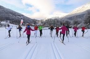 Este domingo el Club Andino realizará una nueva MasterClass de esquí de fondo