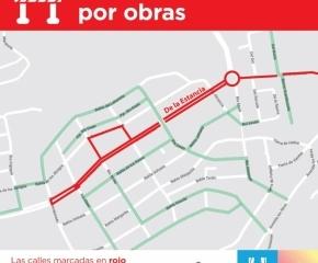 Este miércoles, el Municipio de Ushuaia cortará el tránsito en De la Estancia y Río Claro