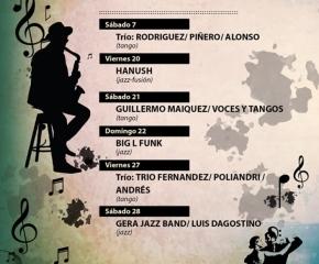 Este sábado se inaugura el Festival Tango Jazz en la Casa de la Cultura