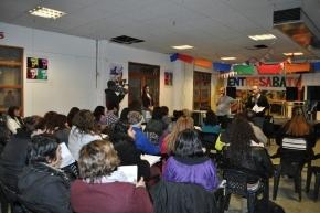 Estudiantes del CENT Nº 11 participaron del taller sobre comunicación responsable en materia de Salud Mental