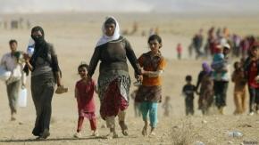 Europa incrementa asistencia para refugiados en Irak