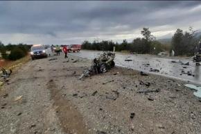 Fatal accidente a 30 km de Tolhuin
