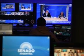 Filmus expuso ante el Senado el proyecto de creación del Consejo Nacional de Asuntos Relativos a Malvinas, Georgias, Sandwich del Sur y Espacios Marítimos Circundantes
