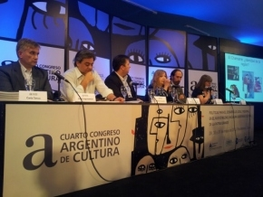 Funcionarios de la Municipalidad de Río Grande y de la Secretaría de Cultura expusieron en el 4° Congreso Argentino de Cultura