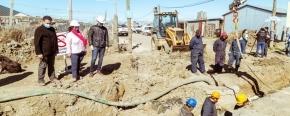 Gobierno realizó la vinculación de las redes de gas para los barrios 10 de Noviembre y El Milagro en la margen sur de Río Grande