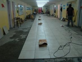 Gobierno realiza los trabajos de mantenimiento previstos para distintos edificios educativos de la provincia durante el receso escolar