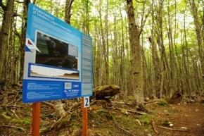 Guardaparques dotan de cartelería a las Áreas Naturales Protegidas