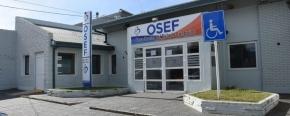 Hrubi destacó que la transferencia de 342 millones de pesos alivia la deuda de OSEF con proveedores y prestadores