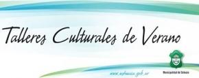 Inscripción a talleres de verano del área de Cultura municipal