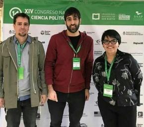Integrantes del equipo de Casa de Jóvenes expuso en las Jornadas Nacionales de Ciencia Política