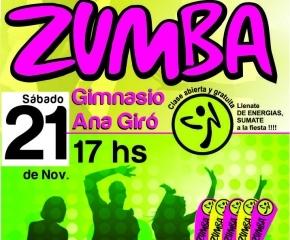 Invitan a clase abierta y gratuita de Zumba