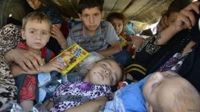 Irak: se estrella helicóptero que transportaba ayuda a yazidíes