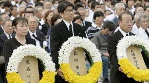 Japón conmemora 69 años de la bomba atómica en Nagasaki