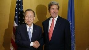 John Kerry y Ban Ki-moon abogan por cese al fuego en Gaza