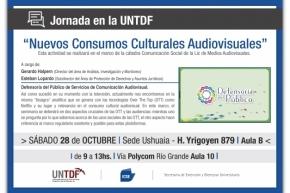 """Jornada sobre """"Nuevos Consumos Culturales Audiovisuales"""""""