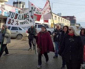 Jubilados de Río Grande se movilizan este miércoles al mediodía