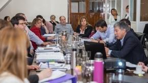 La Comisión de Presupuesto de la Legislatura se reúne para debatir el proyecto de presupuesto 2020