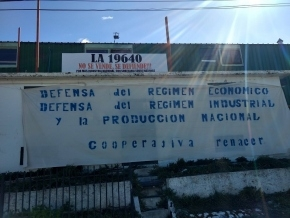 La Cooperativa Renacer reclama a Bertone un plan de contingencia para salir de la emergencia