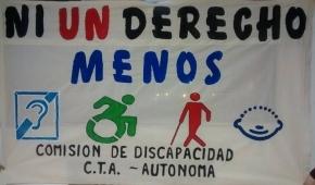 La CTA reclama por recortes a la atención de alumnos con discapacidad