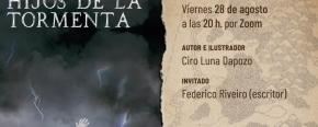 """La Editora Cultural Tierra del Fuego presentará el libro """"Hijos de la Tormenta"""""""