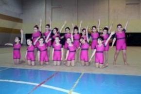 La Escuela Municipal de Gimnasia Rítmica realizó colorida exhibición