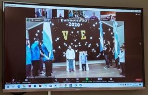 La Escuela N° 38 de Base Esperanza celebró su acto de finalización del ciclo lectivo 2020