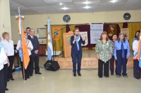 La Gobernadora acompañó a los adultos mayores en el cierre de las Olimpiadas Fueguinas