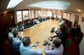 """La Gobernadora Bertone instó a sus funcionarios a que sean """"un ejemplo de trabajo, honestidad y compromiso"""""""