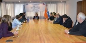La gobernadora Fabiana Ríos se reunió con el Secretario de SEDRONAR