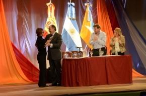 La Gobernadora presenció la firma del Acta de Intención de Hermanamiento entre las ciudades de Algeciras, provincia de Cádiz, España y Río Grande
