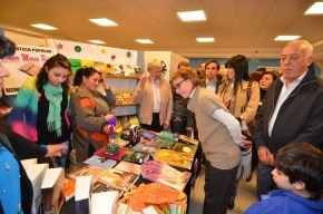 La Gobernadora Ríos realizó la apertura de 20° Feria Provincial del Libro