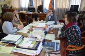 La Gobernadora recibió a representantes de la Fundación Friedrich Ebert Stiftung