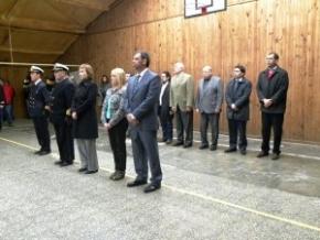La Gobernadora Ríos participó de la ceremonia por el 63 aniversario de la Base Aeronaval Río Grande