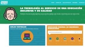 La ministra Cubino participó del lanzamiento de la nueva plataforma educativa federal Juana Manso