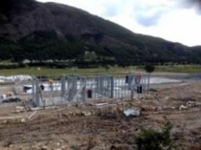 La Municipalidad avanza en la construcción de nuevos caniles