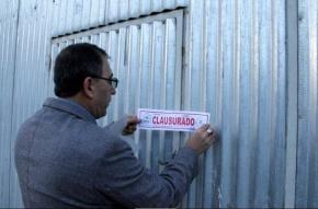 La Municipalidad de Ushuaia clausuró predio de la empresa Masciotra