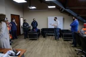 La Municipalidad de Ushuaia entregó indumentaria de invierno al personal de Servicios Públicos y Medio Ambiente