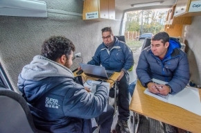 La Municipalidad de Ushuaia instalará su Móvil de Atención en el barrio Los Morros