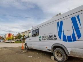 La Oficina Móvil Municipal de Ushuaia atenderá en el Felipe Varela